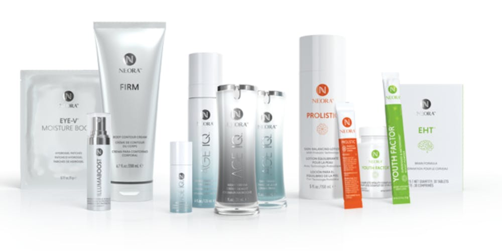 Neora creams and products